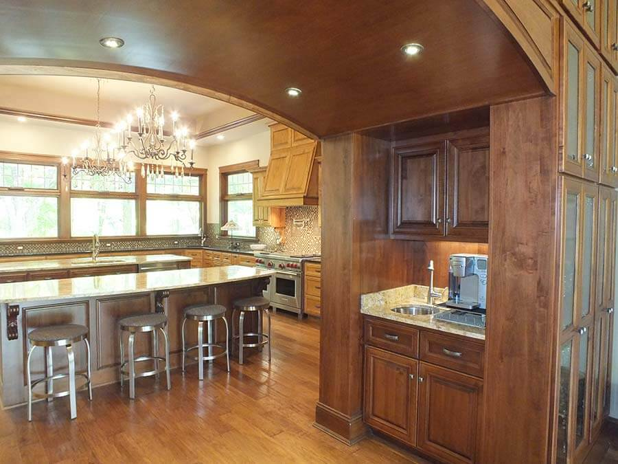 custom home kitchen cabinets - High Point Cabinets